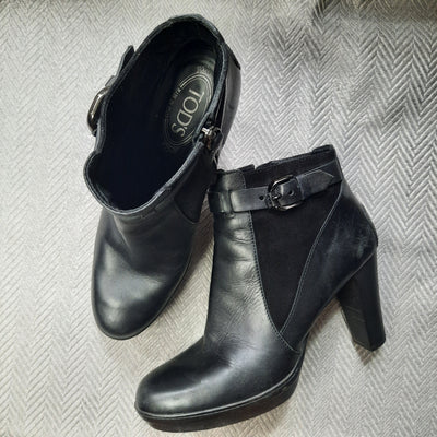 Tod's Leather Boots Size 11