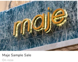 Designer Sample Sale Fashion Personal Shopper Maje Sample Sale NYC FASHION