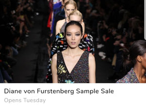 Designer Sample Sale Fashion Personal Shopper Diane von Furstenberg NYC SAMPLE SALES