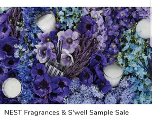 Designer Sample Sale Fashion Personal Shopper Nest Fragrances S'well  Water Bottles