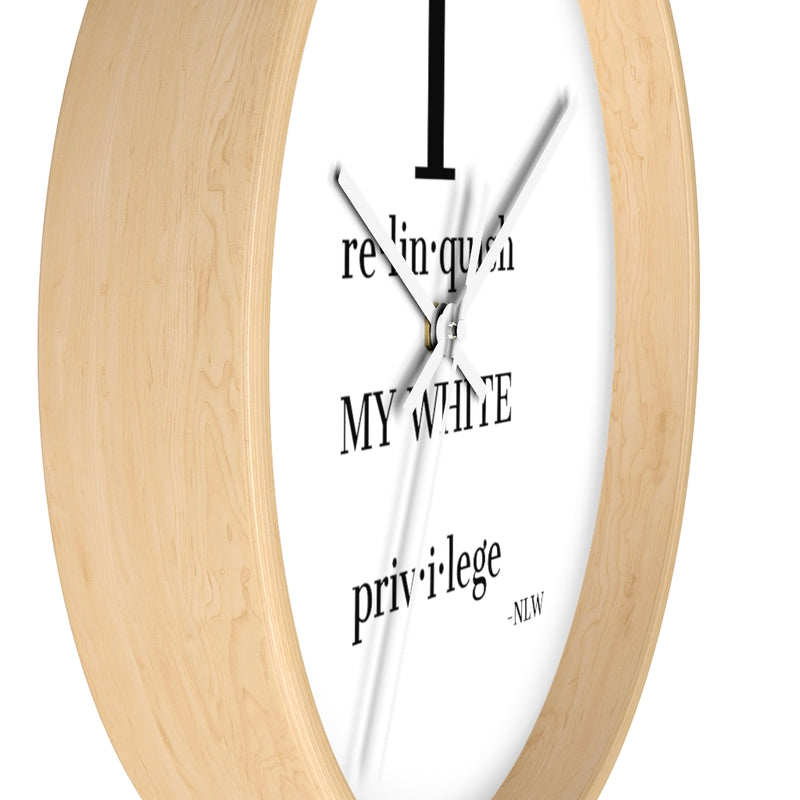 Amy Cooper Daily Affirmation Wall Clock