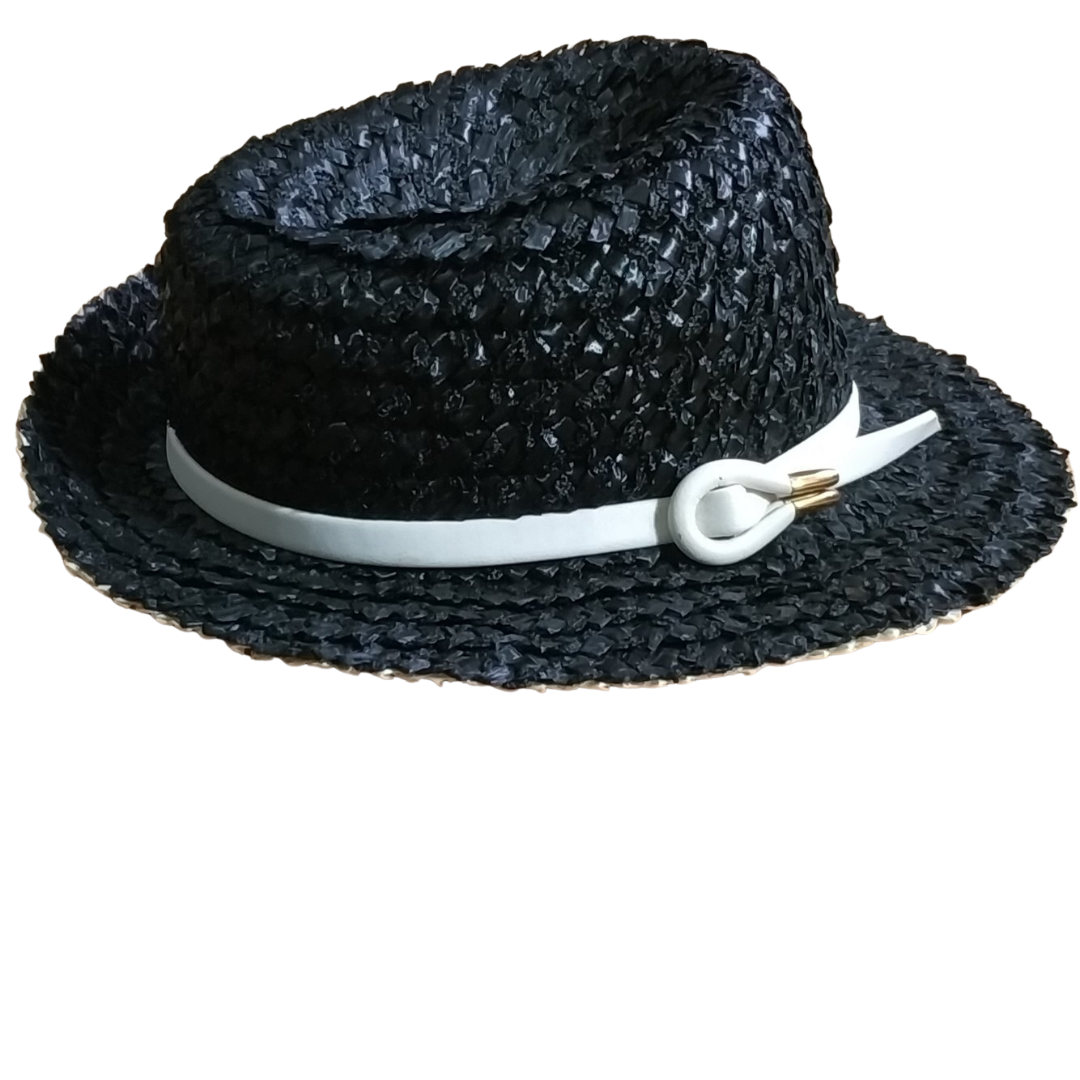 Adolfo II For Saks Fifth Avenue Straw Hat