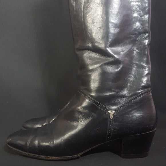 Salvatore Ferragamo Riding Boots 7.5