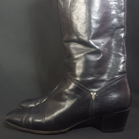 Vintage Salvatore Ferragamo Riding Boots