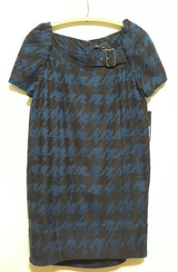 Marc By Marc Jacobs Scribble Houndstooth Dress Sz. L