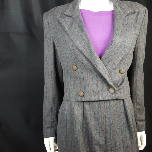Paul Alexander 80s Vintage Power Suit Size 10