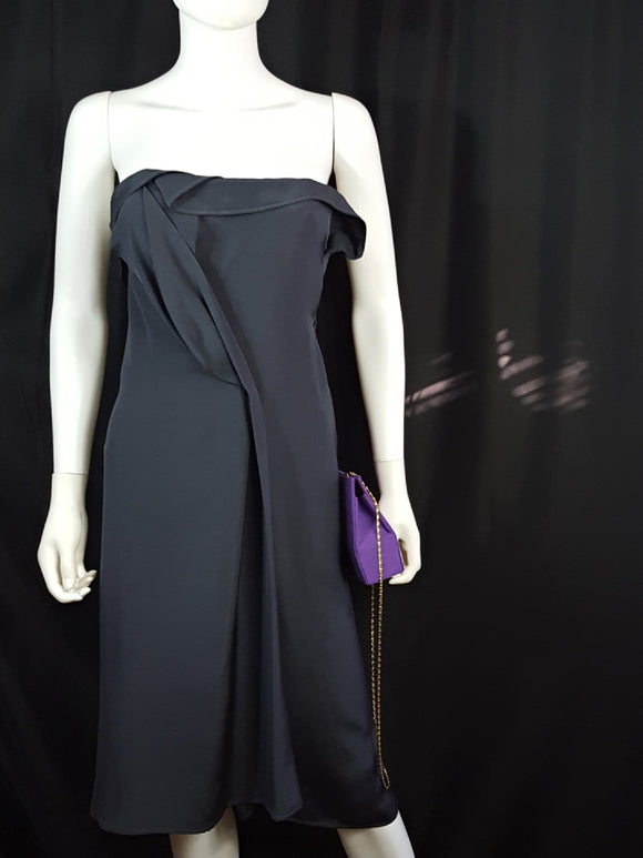 Michel Mayer Strapless Cocktail Dress Size S