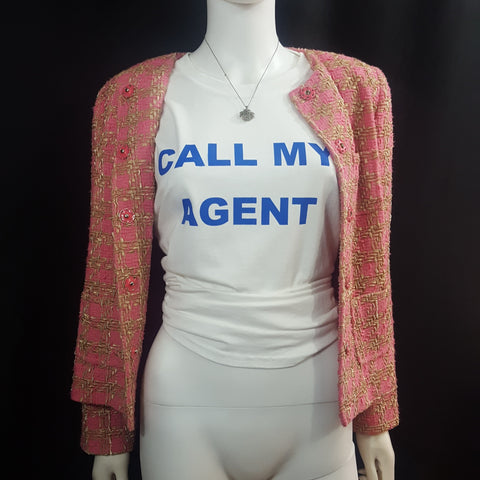 Unisex Call My Agent Tee sz. XL, Tees, Port and Company, [shop_name