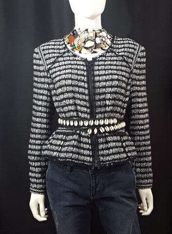 Milly Tweed Blazer Wells Resale and Company Contempoary Designer Resale Shop