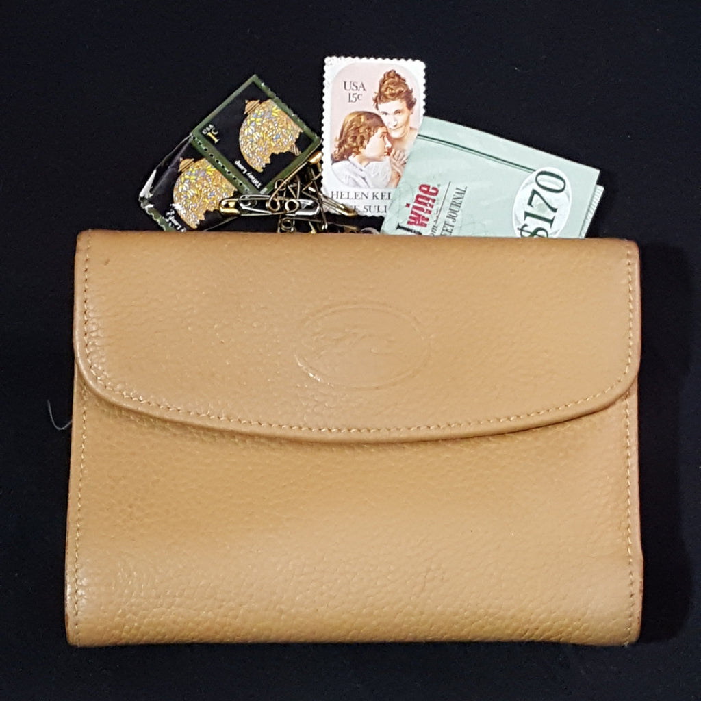 Longchamp Leather Wallet/Coin