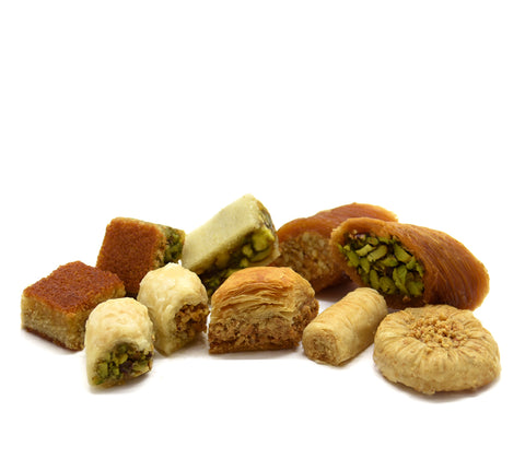 Mixed Baklava Cashews & Pistachios
