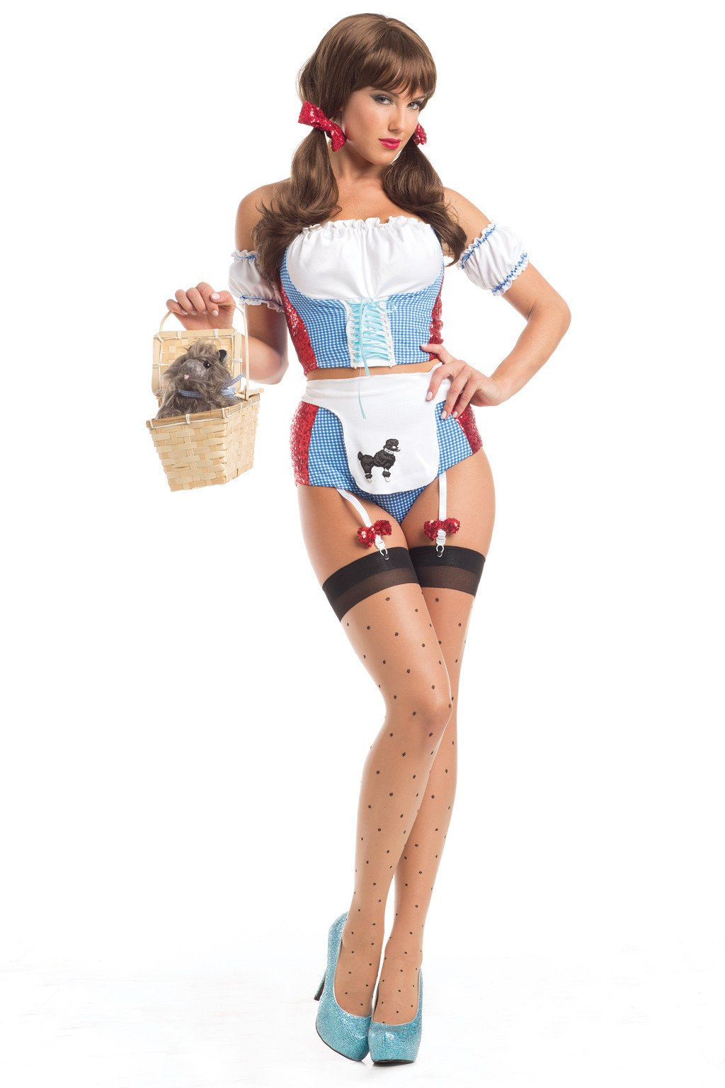 LALA TRENDS Be Wicked Desirable Dottie Costumes $49.95