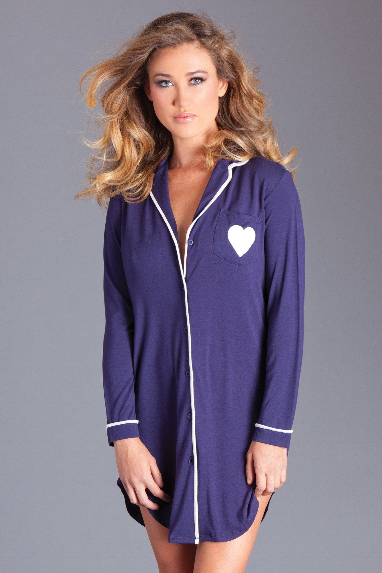 Stacey Nightshirt Navy