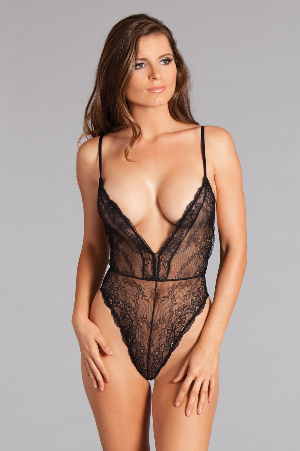 Savannah Teddy Black Lingerie- La La Trends