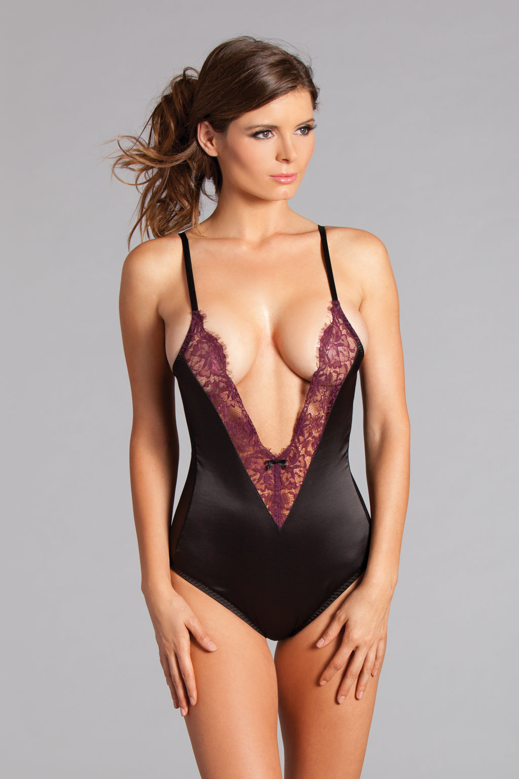 LALA TRENDS Be Wicked Clair Teddy Lingerie $52.95