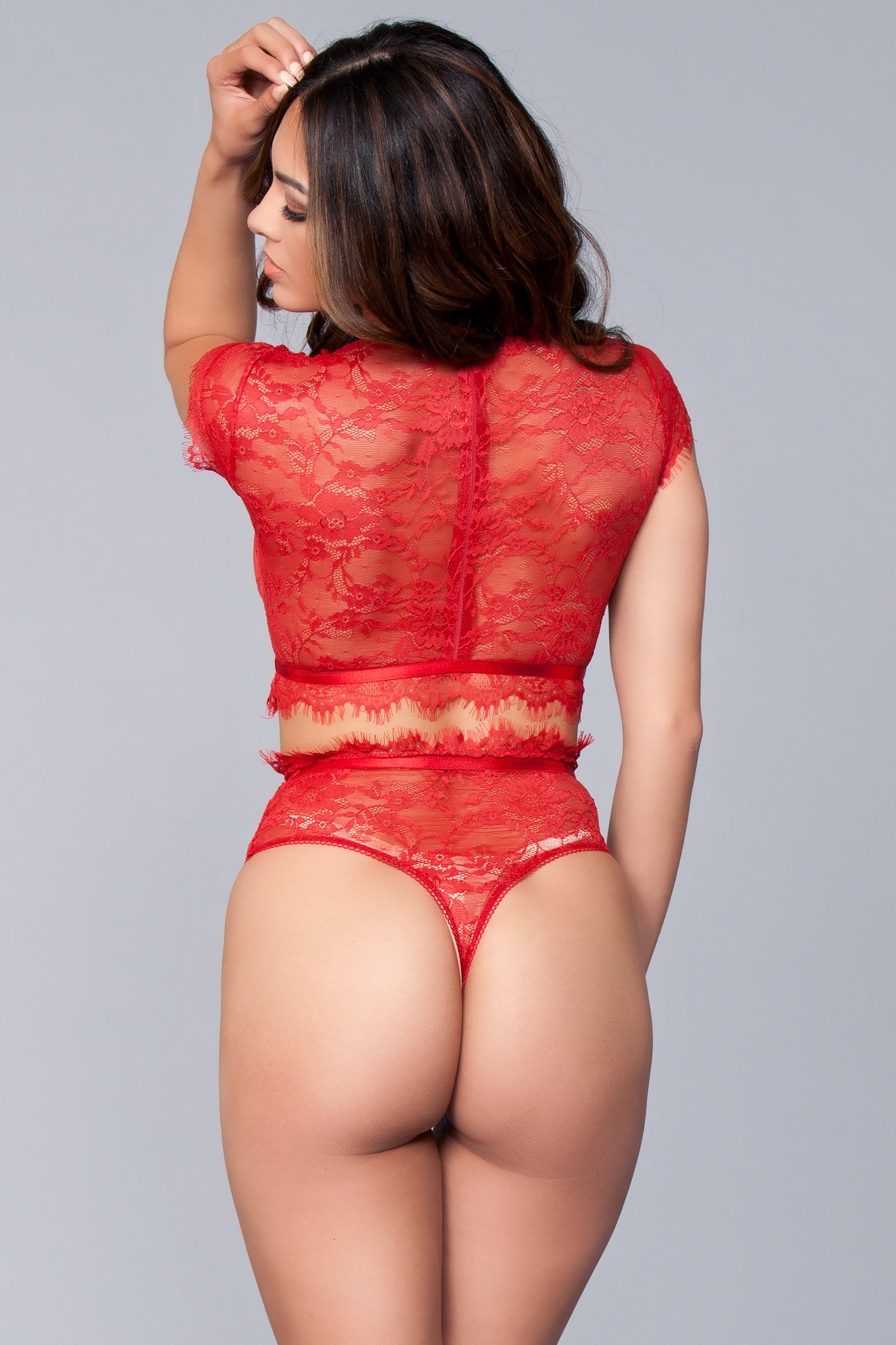 Kayla Set Red