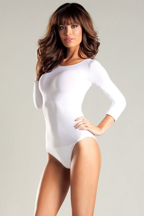Sara Bodystockings White