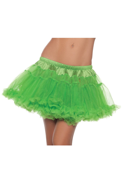 Kate Petticoat Lime Green