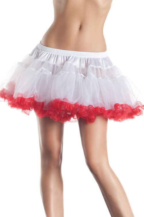 KATE Petticoat White/Red