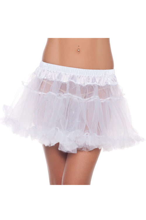 LALA TRENDS Be Wicked KATE Petticoat White Costumes,Bottoms