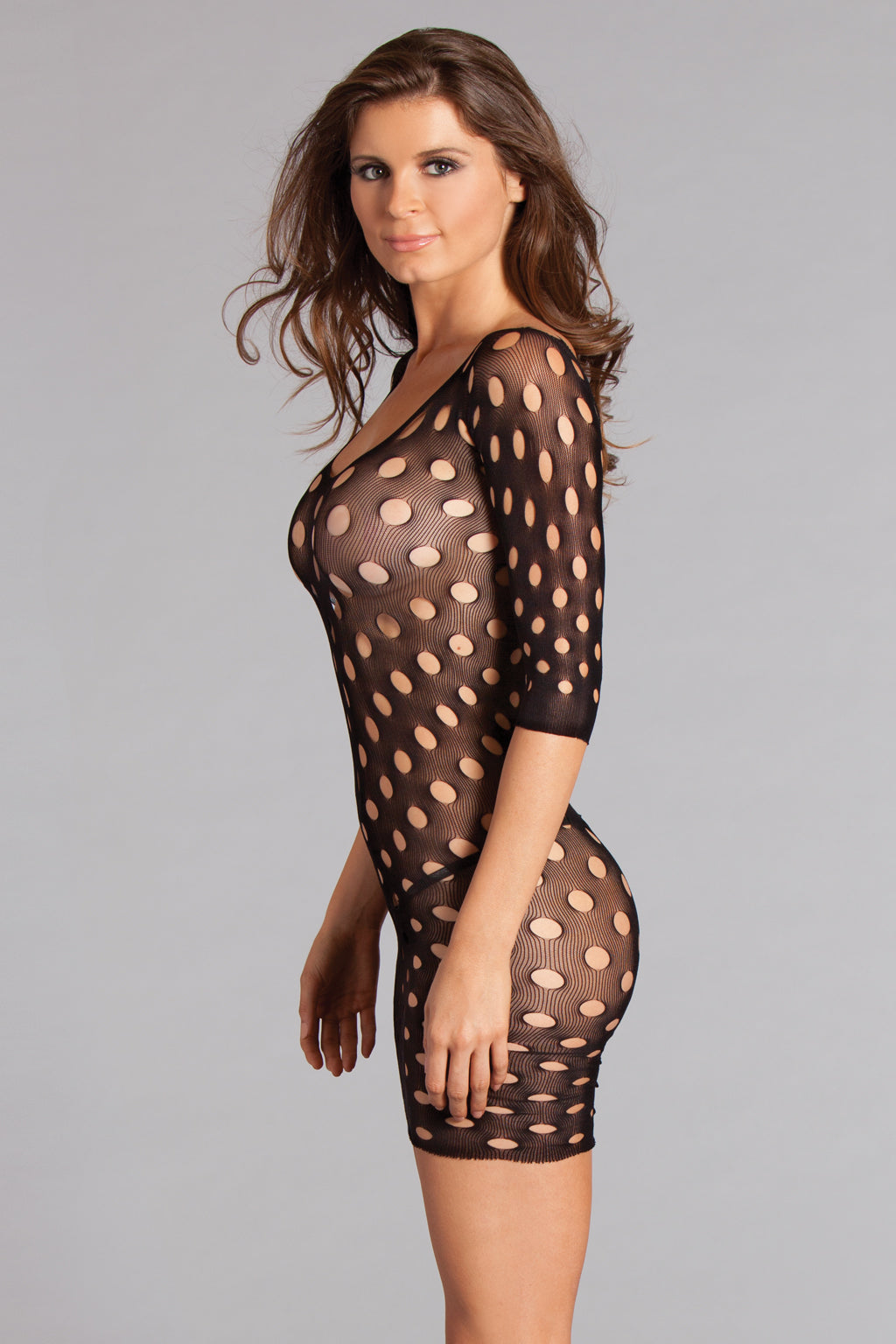 Connect the Dots Body Stocking Body Stocking- La La Trends