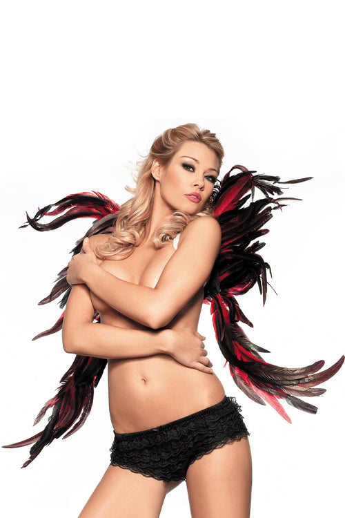 "Feather Wings 28"" x 32"" Costumes,Exotic- La La Trends"