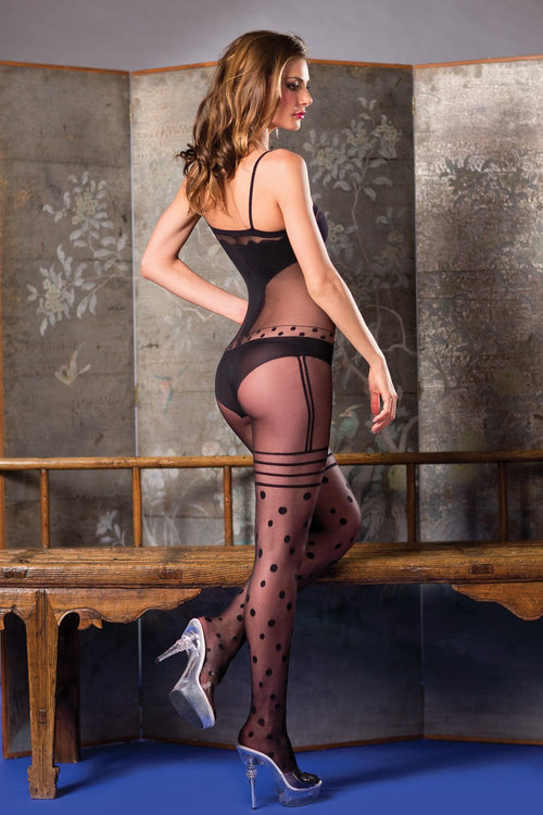 Dot Body Stocking