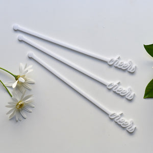 Cheers Drink Stirrers Set | Swizzle sticks