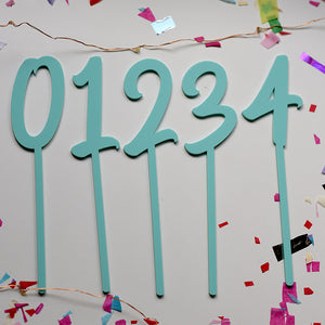 9 Numeral Birthday | Cake Topper