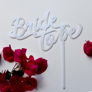 Bride To Be Cake Topper | Bridal shower