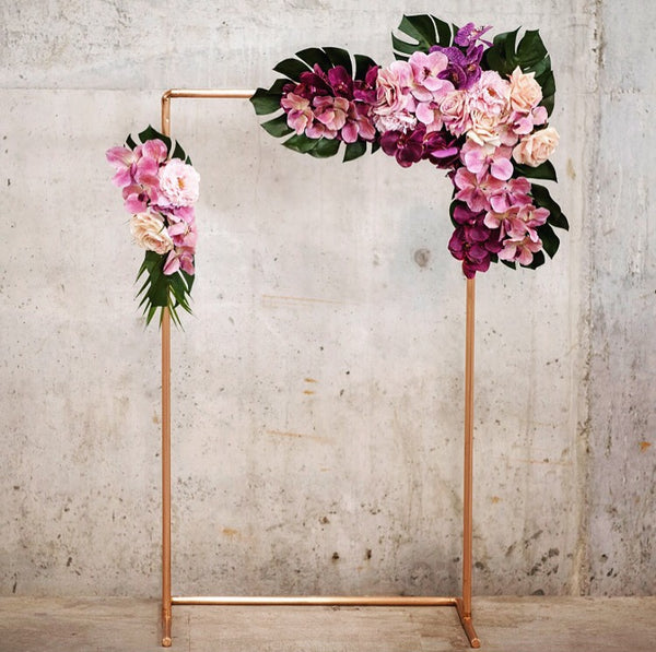 Hire - Rose gold copper frame