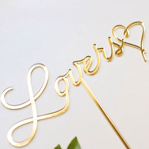 Lovers Cake Topper