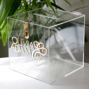 Wishing Well Card Box | Clear Acrylic