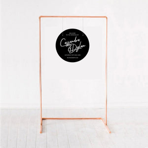 Wedding mini sign