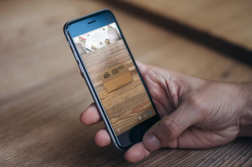 Augmented Reality App von Packhelp - Shopify.de