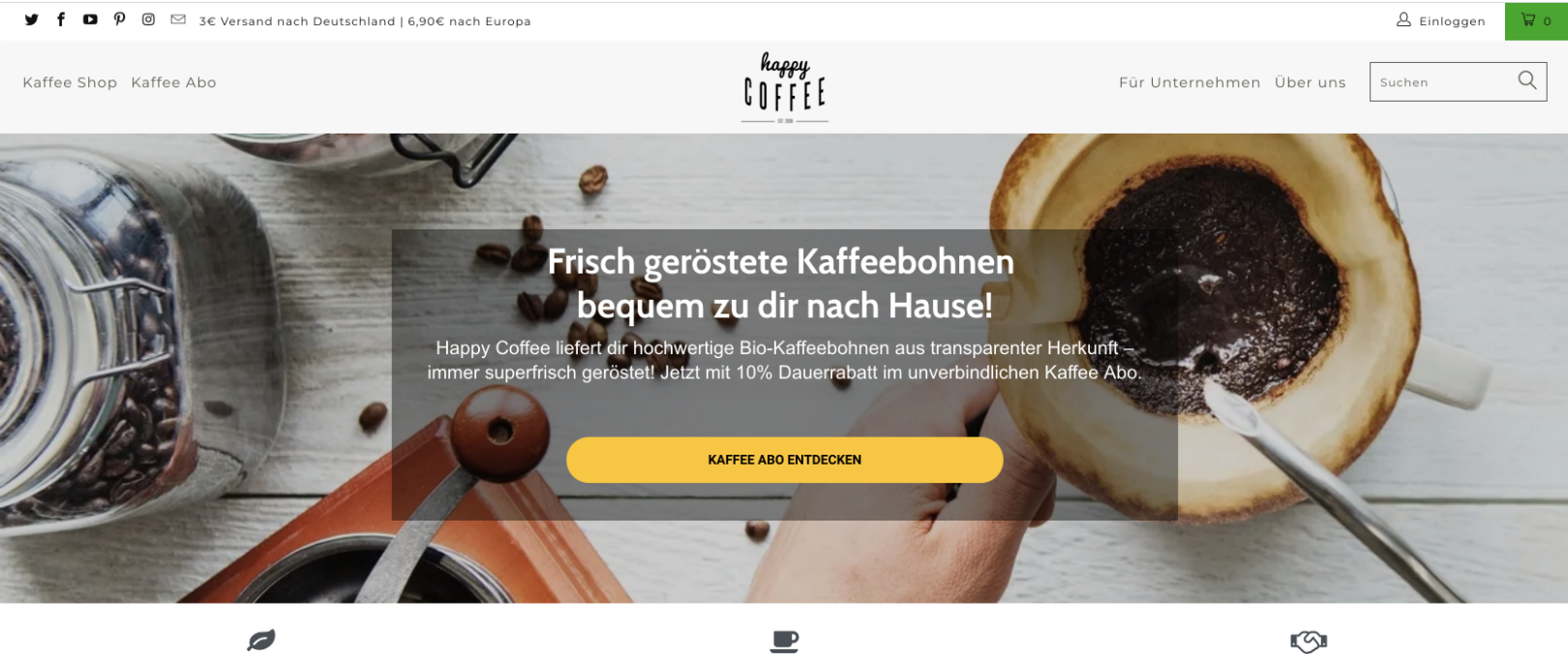 Wie dieser Kaffeeshop mit Abo-Commerce den Customer Lifetime Value verzehnfacht hat