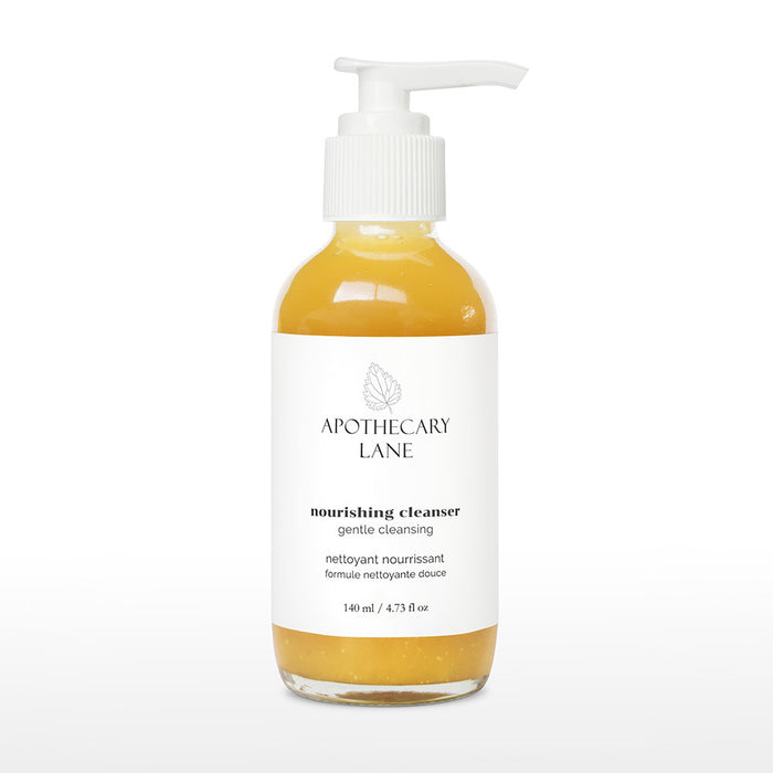 nourishing cleanser // gentle cleansing