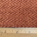 Chevron chenille upholstery fabric