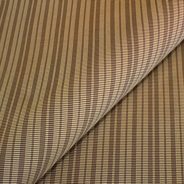 Nautical stripe upholstery fabric