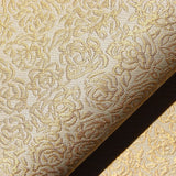 Rose pattern upholstery fabric