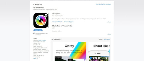 camera+ photography app for iphone review