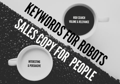Optimizing for Keywords vs Optimize for People