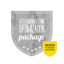 Asteroid Aim™ Amazon Listing Text Optimization Package (+ Free Unlimited Revisions)