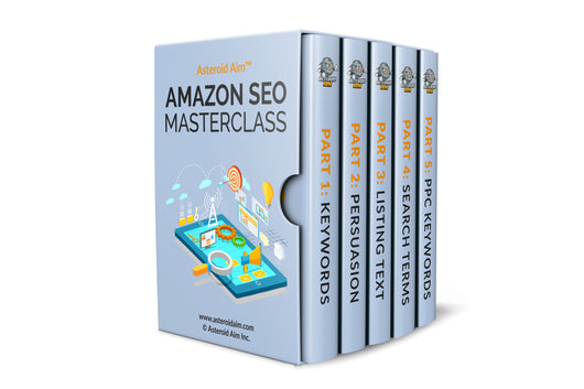 Asteroid Aim™ Full Amazon SEO Course (Optimize Yourself) - EBOOK