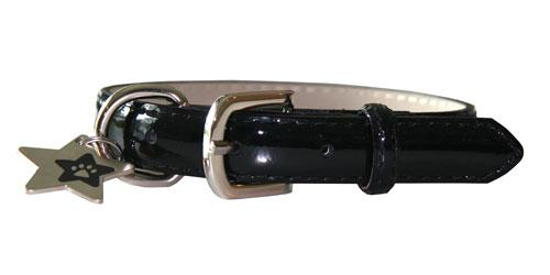 Patent Leather Collar - Buddy
