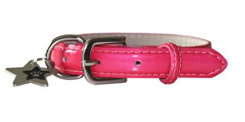 Patent Leather Collar - Lola