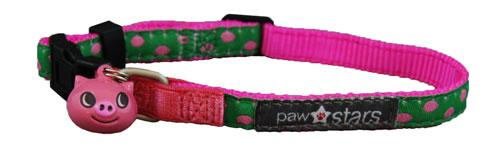 Apple ribbon cat collar