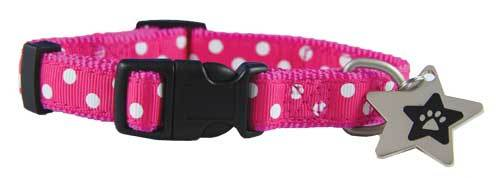 Bella ribbon puppy collar