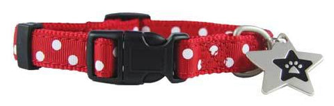 Max ribbon puppy collar