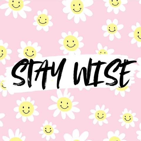 International day of Happiness Stay Wise slogan